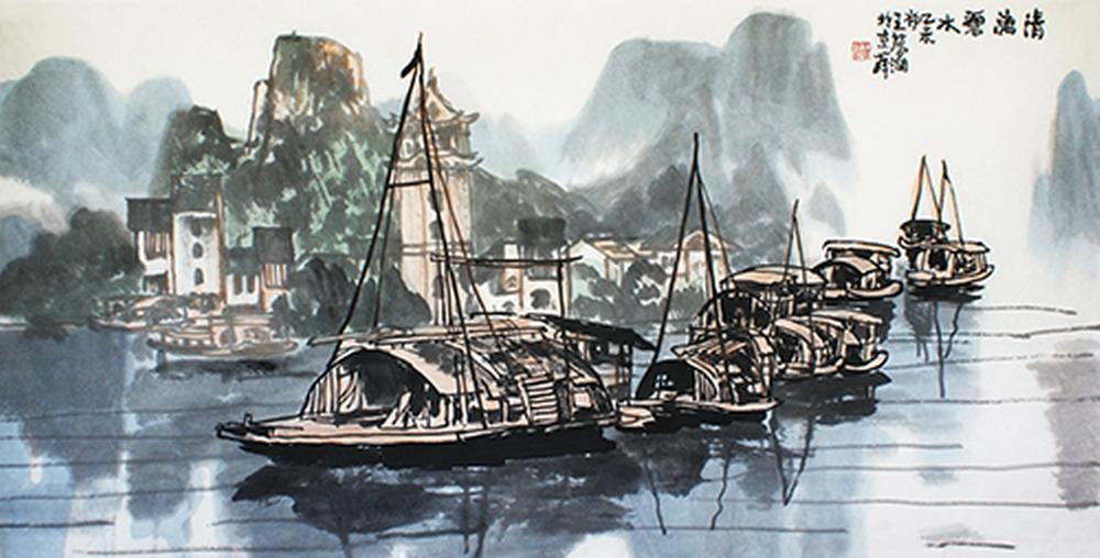 """中国美术家协会会员,中国山水画研究院常务副院长,中华慈善总会""""中华"""